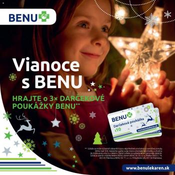 BENU Lekáreň - leták