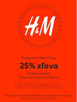 HM - Pred Black Friday