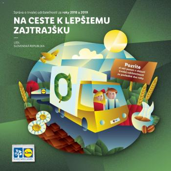 Lidl - Správa o trvalej udržateľnosti